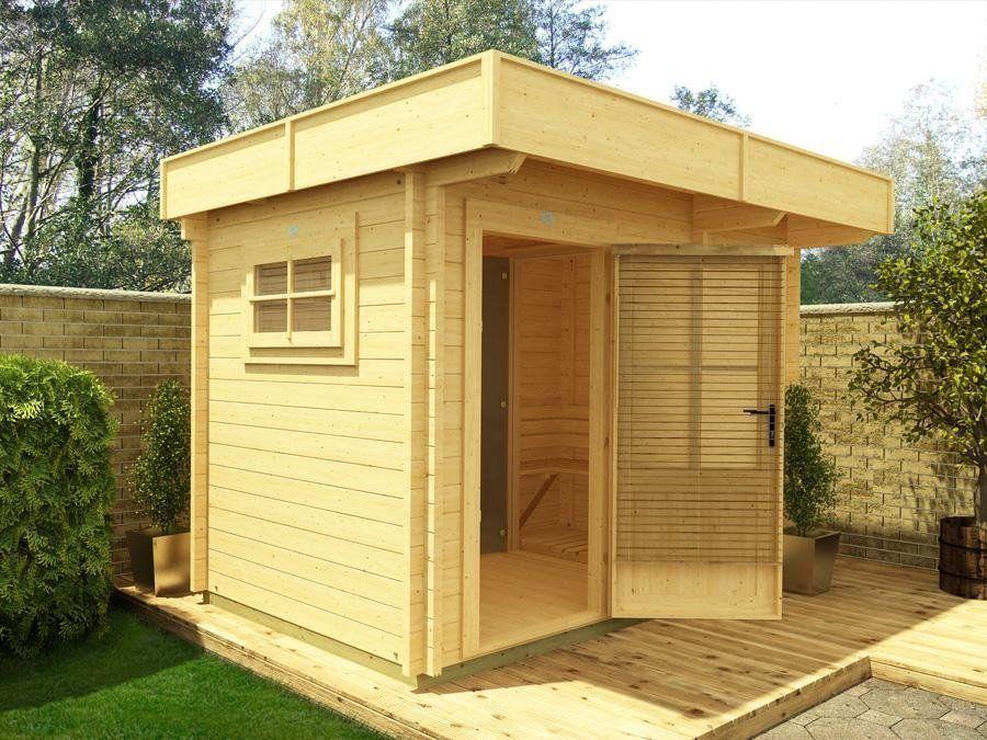 Dunster House Ltd | Meleg Outdoor Wooden Sauna | Outdoor Living