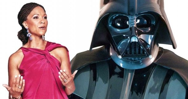 THE ALEX JONES RADIO SHOW  MSNBC'S MELISSA HARRIS PERRY: STAR WARS IS RACIST BECAUSE DARTH VADER IS A 'BLACK GUY' Notion that dark is evil and light is good is a well-established literary trope that predates American race politics