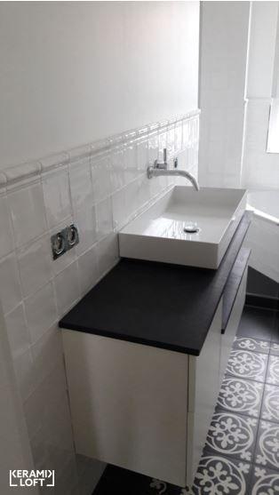 Außergewöhnliche Badezimmer, vintage - #wandfliesen mit passender #bordüre für außergewöhnliche, Design ideen
