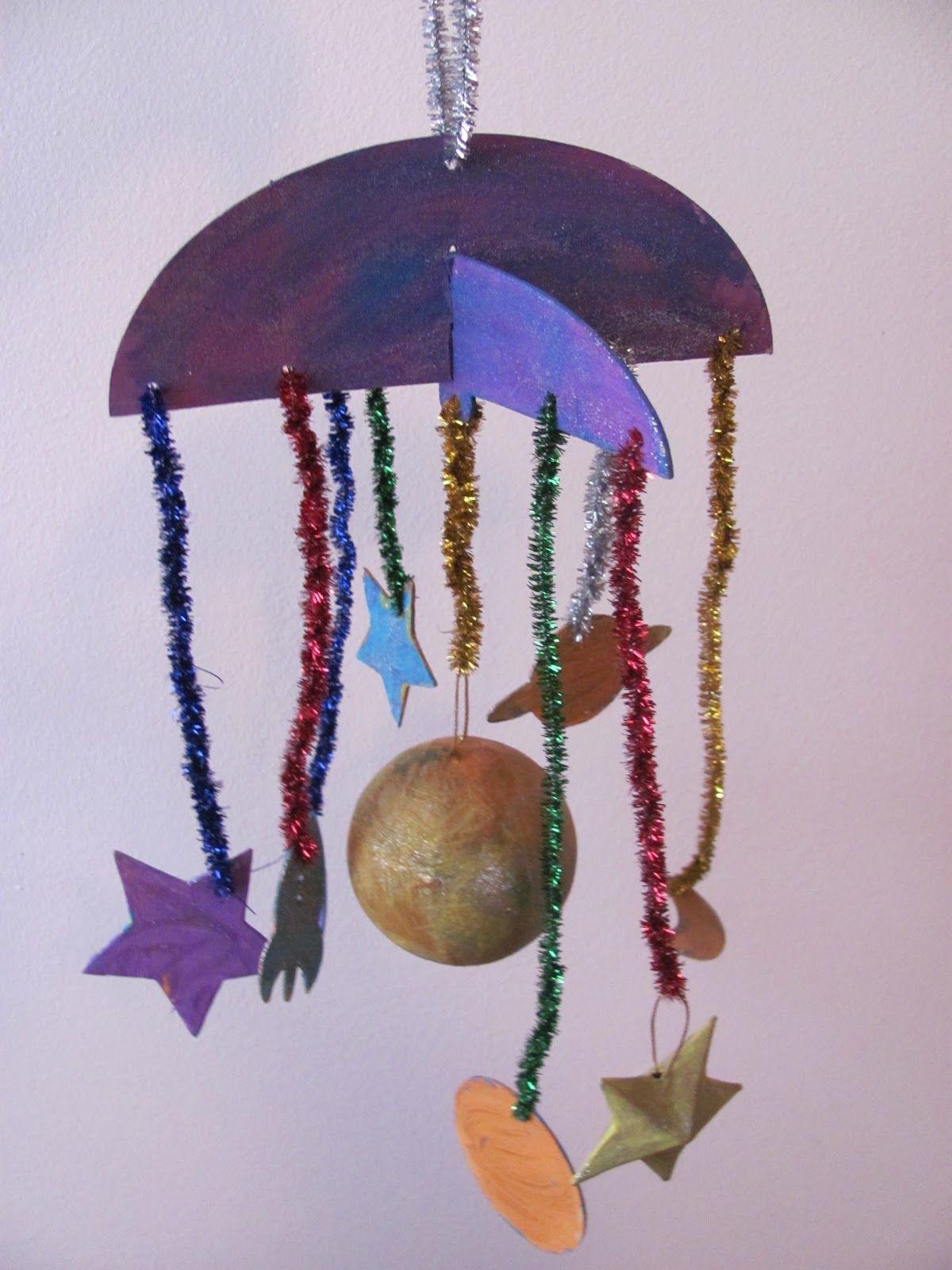 Preschool Art Hanging Mobile