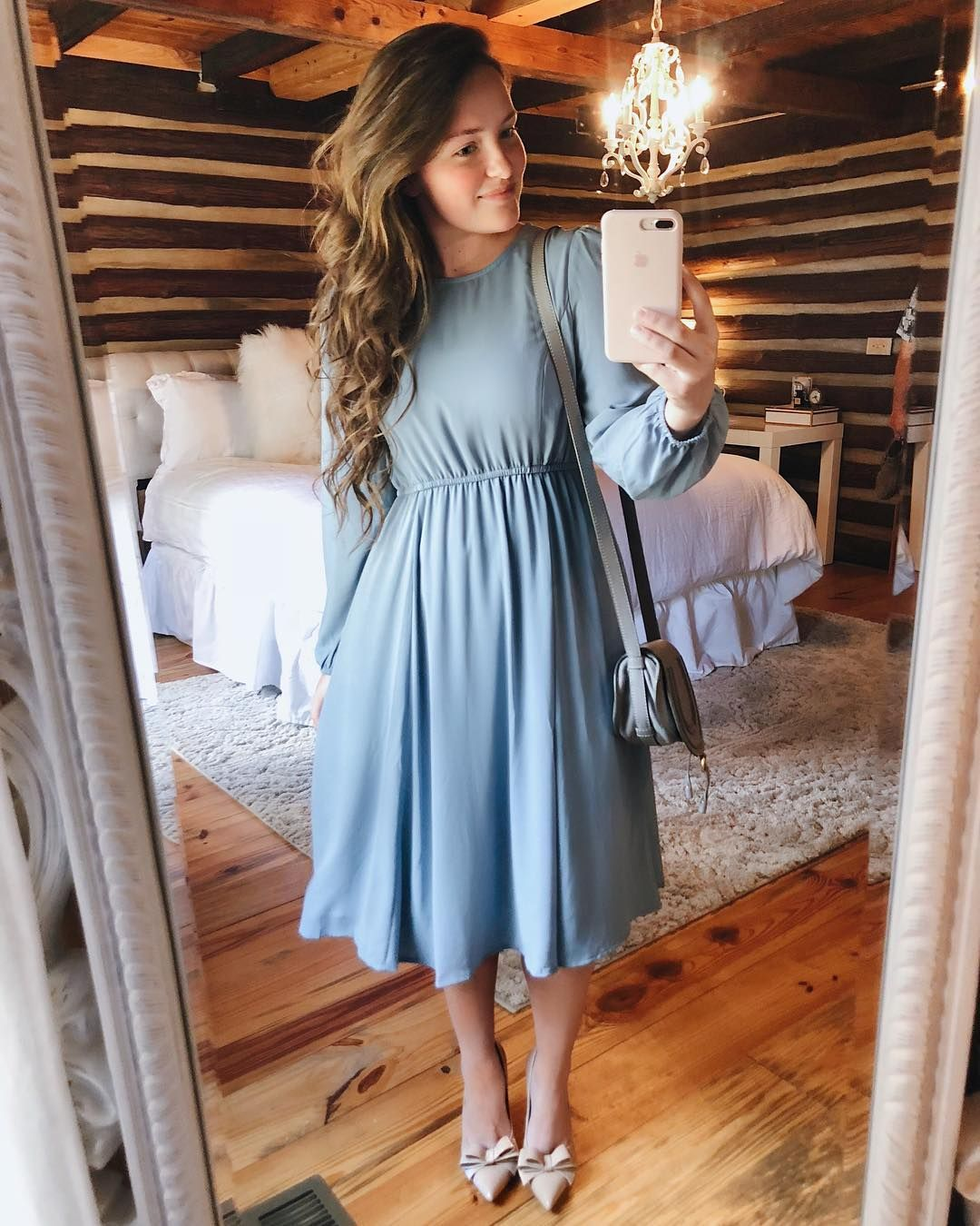 Here S A Little Sunday Inspo For You All Just A Day Late This Dress From Shopfreidy Is 50 Off Today Just Use Code Modest Outfits Modest Dresses Fashion [ 1350 x 1080 Pixel ]