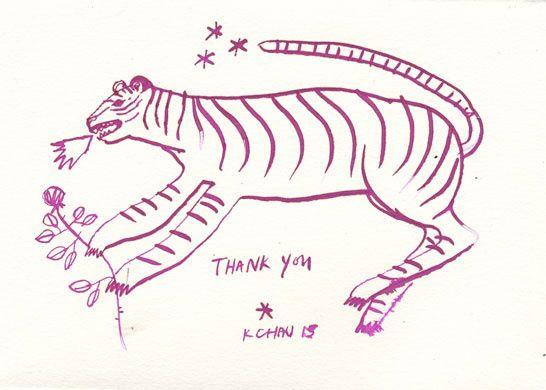 Thank You Tiger