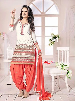 Indian Pakistani Bollywood Designer Salwar Kameez Shalwar Suit Punjabi Patiyala Clothing, Shoes, Accessories