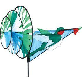 Hummingbird Triple Wheel Wind Spinner : KITESKITESKITES.com , We ...