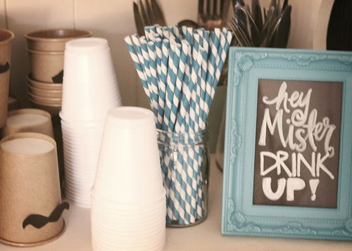 Little Mister baby shower theme! Thats perfect for one of us to throw another @Lisa Gorsky