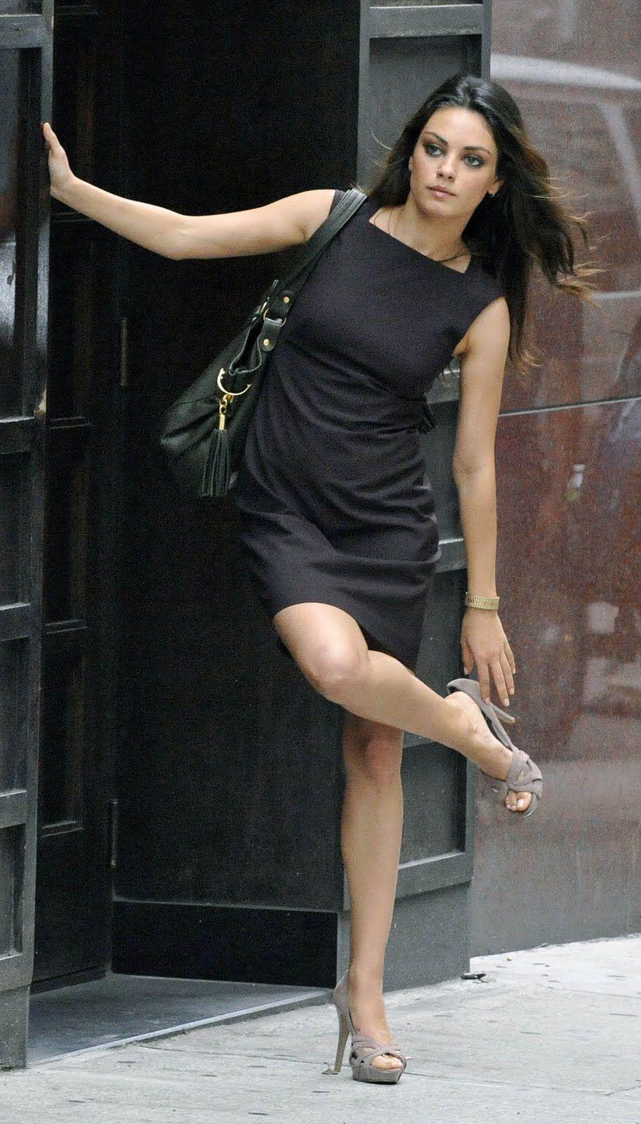 Image Detail For -Mila Kunis, Mila, Kunis, Filming -7393