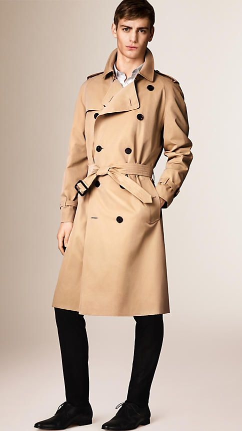 009f5ba5bf615c Burberry s classic fit trench coat, The Westminster is tailored to the body  with a generous cut. Discover the men s outerwear collection at Burberry.com