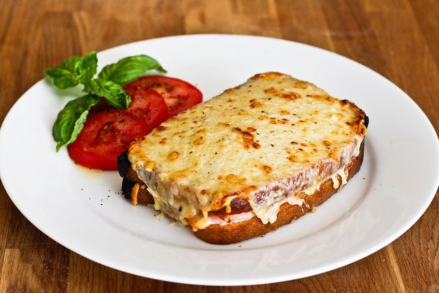 Croque Monsieur And Croque Madame Recipe Recipes Croque Monsieur Ham And Cheese Sandwich