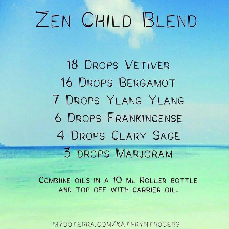 Zen blend Doterra oils recipes, Essential oil roller
