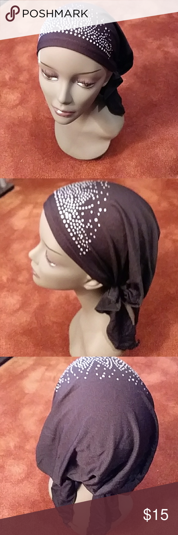 NIB chemo scarf It was designed for women undergoing hair loss due to chemotherapy treatments alopecia or other medically related hair loss. It is made specifically to be worn by women who have little or no hair. It's a stylish and comfortable alternative to wigs tying head scarves designer Accessories Hair Accessories #tieheadscarves NIB chemo scarf It was designed for women undergoing hair loss due to chemotherapy treatments alopecia or other medically related hair loss. It is made specificall #tieheadscarves