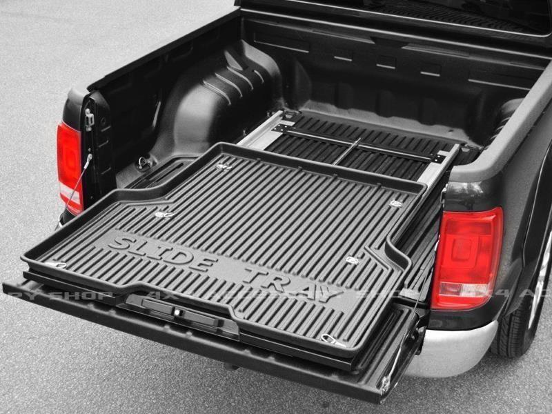 Sliding Pickup Bed Slide Tray Liner Hilux D40 L200 Ranger Ebay Truck Bed Slide Truck Bed Storage Trucks