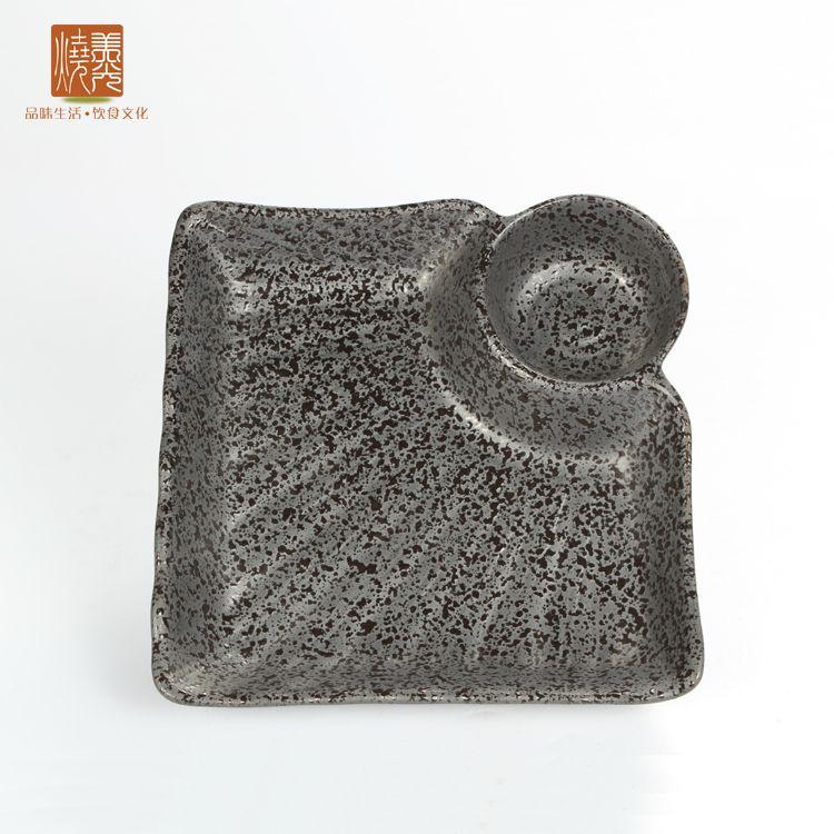 Japanese sushi plate&stoneware plate E438-29  Size: 7 inch