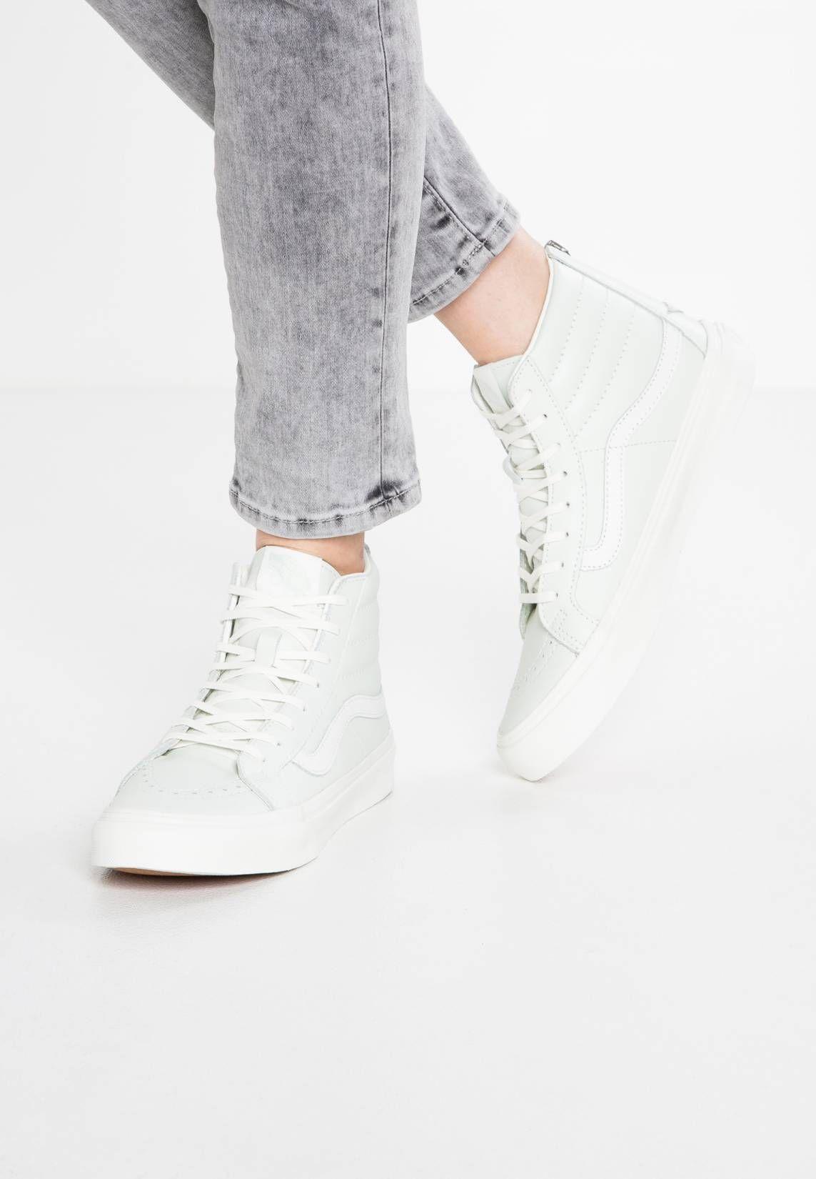 52e384e96c Vans. SK8-HI SLIM ZIP - Sneaker high - zephyr blue blanc de blanc ...