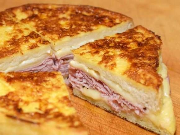 Monte Christo Sandwich   Batter 2 large eggs, beaten 2 tablespoons milk 1 tablespoon unsalted butter, melted 1 tablespoon golden brown sugar ½ teaspoon vanilla extract ½ teaspoon fine sea salt  Frying 1 tablespoon vegetable oil 1 tablespoon unsalted butter, melted