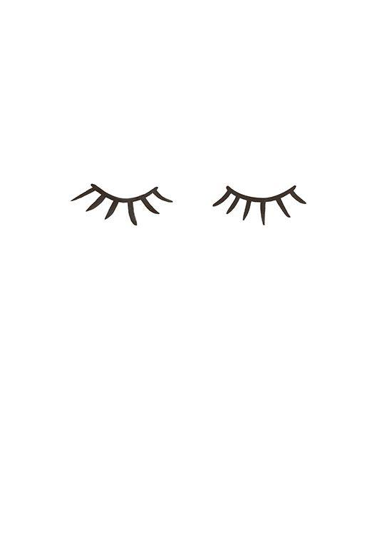 Eyelashes Affiche Dans Le Groupe Affiches Posters Pour
