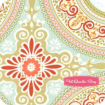 Secret Garden Speckel Garden Gate by Sandi Henderon for Michael Miller Fabrics