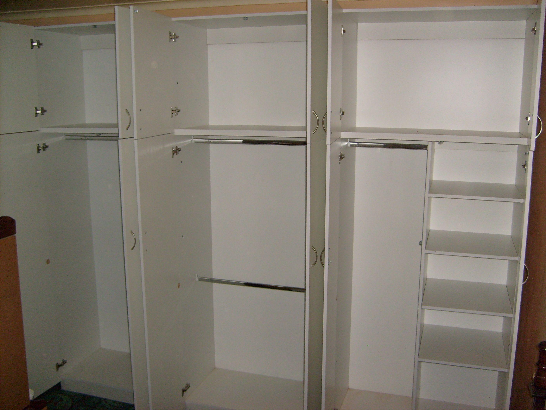 White Bedroom Cupboard Melamine