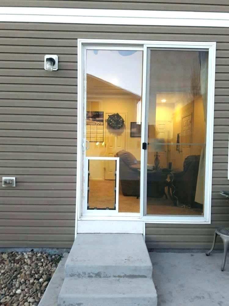Patio Doggie Door Insert Sliding Glass Dog Door Insert Beautiful