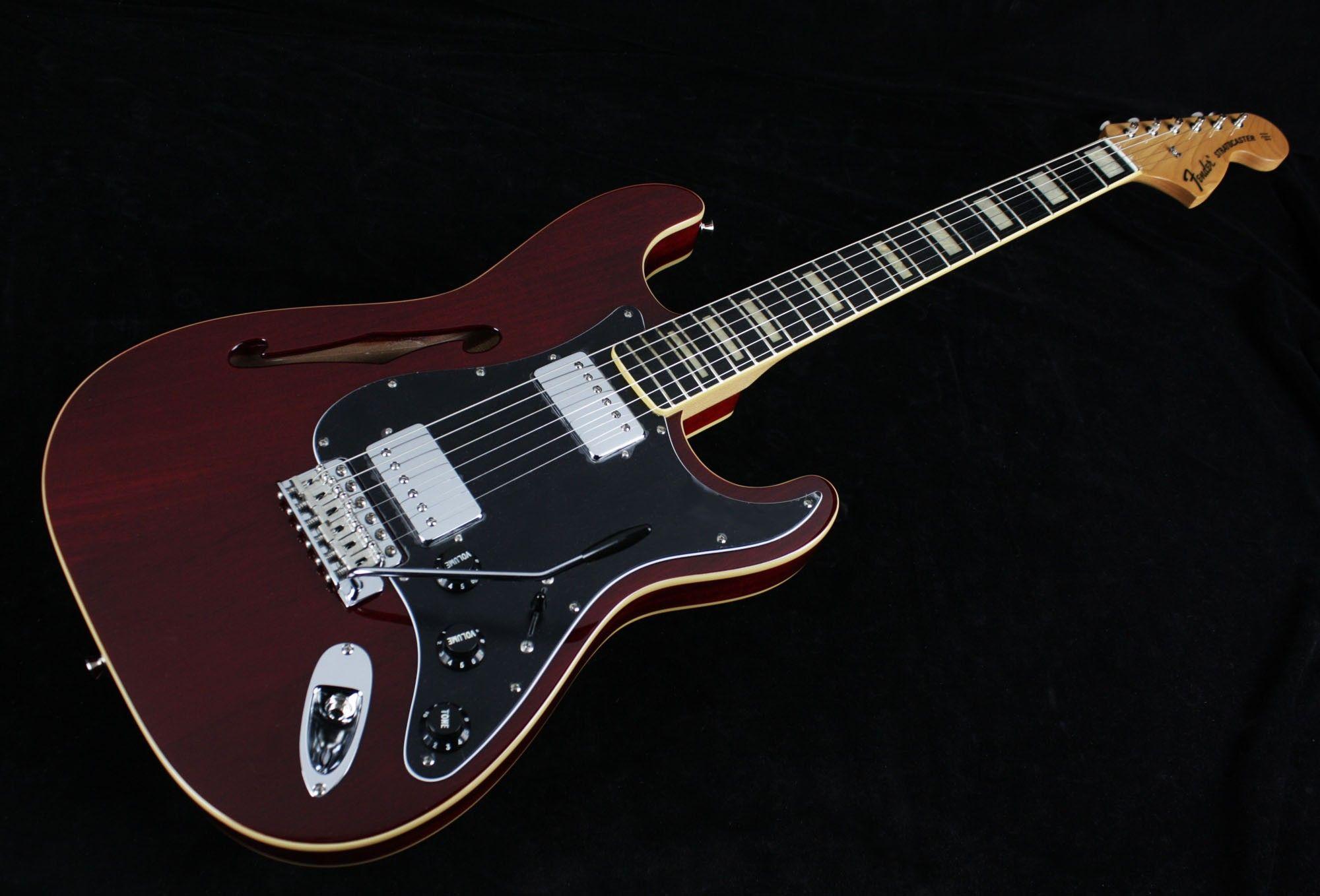 Fender Japan Stratocaster Thinline ST/HO/2H - Cherry ...