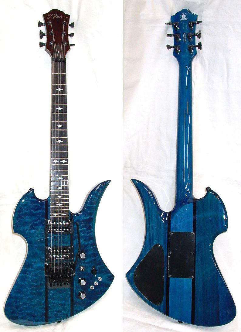 BC Rich Mockingbird St | Trans Blue MGSTTBL 1台限り ¥126000 ...