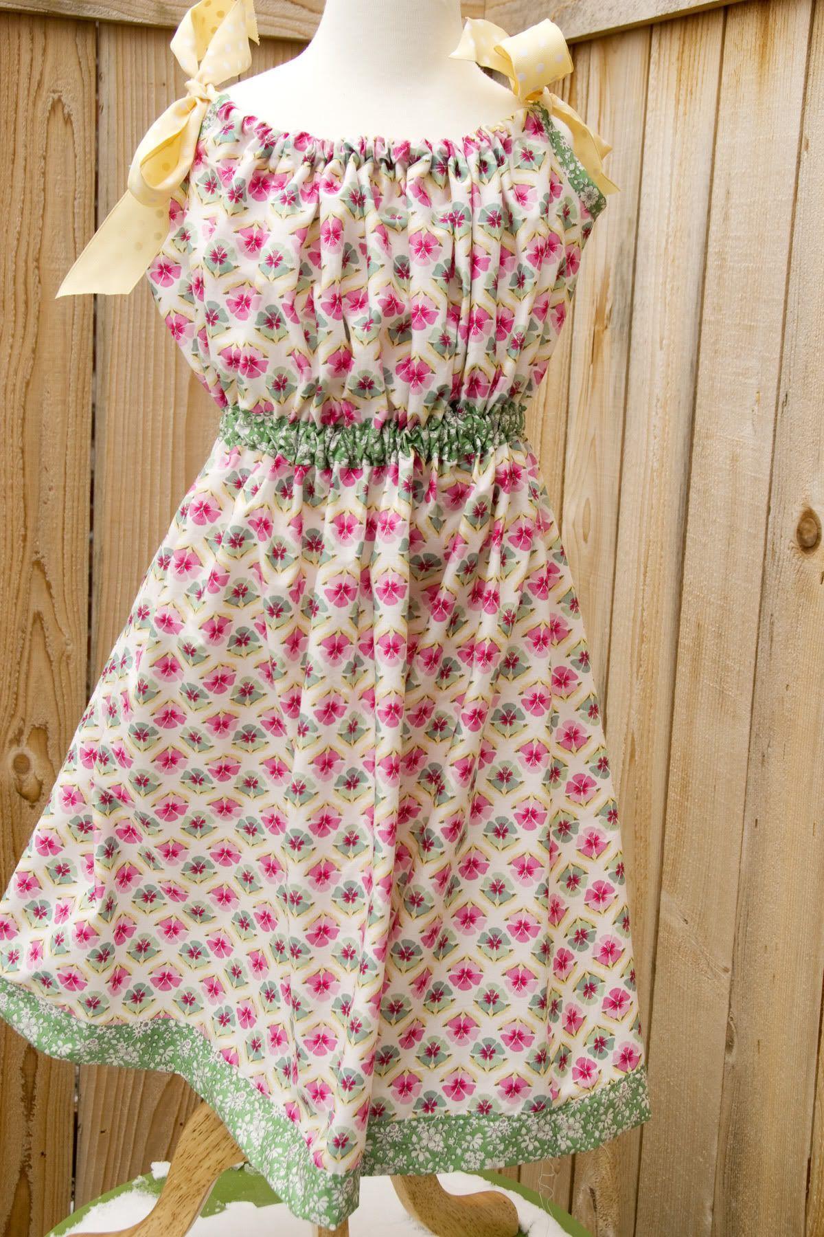 Tutorial: Add waistband to a pillowcase dress | Kopfkissenbezug, Ich ...