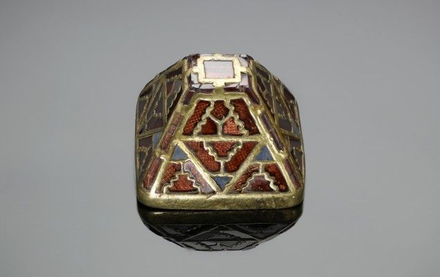 Sword pyramid | Staffordshire Hoard