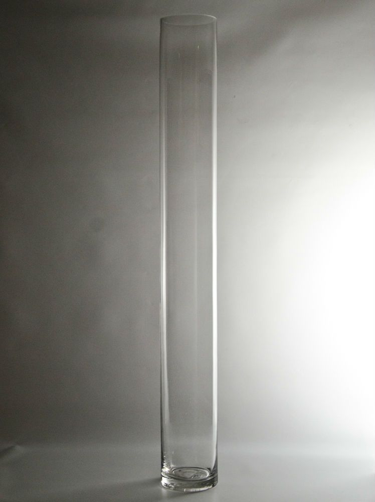 315 X 4 Clear Glass Cylinder Vase Glass Flower Vase Wholesale