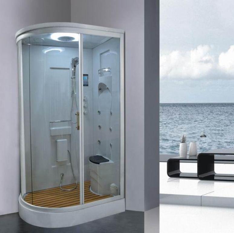 Shower Stalls With Seats Built In Fiberglass Shower Fiberglass Shower Enclosures Prefab Shower Enclosures