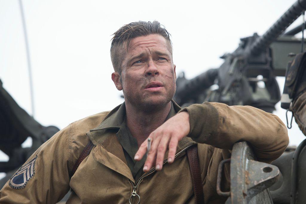 Herz Aus Stahl Brad Pitt Ballert Auf Nazischergen Herz Aus Stahl Brad Pitt Frisur Und Bart