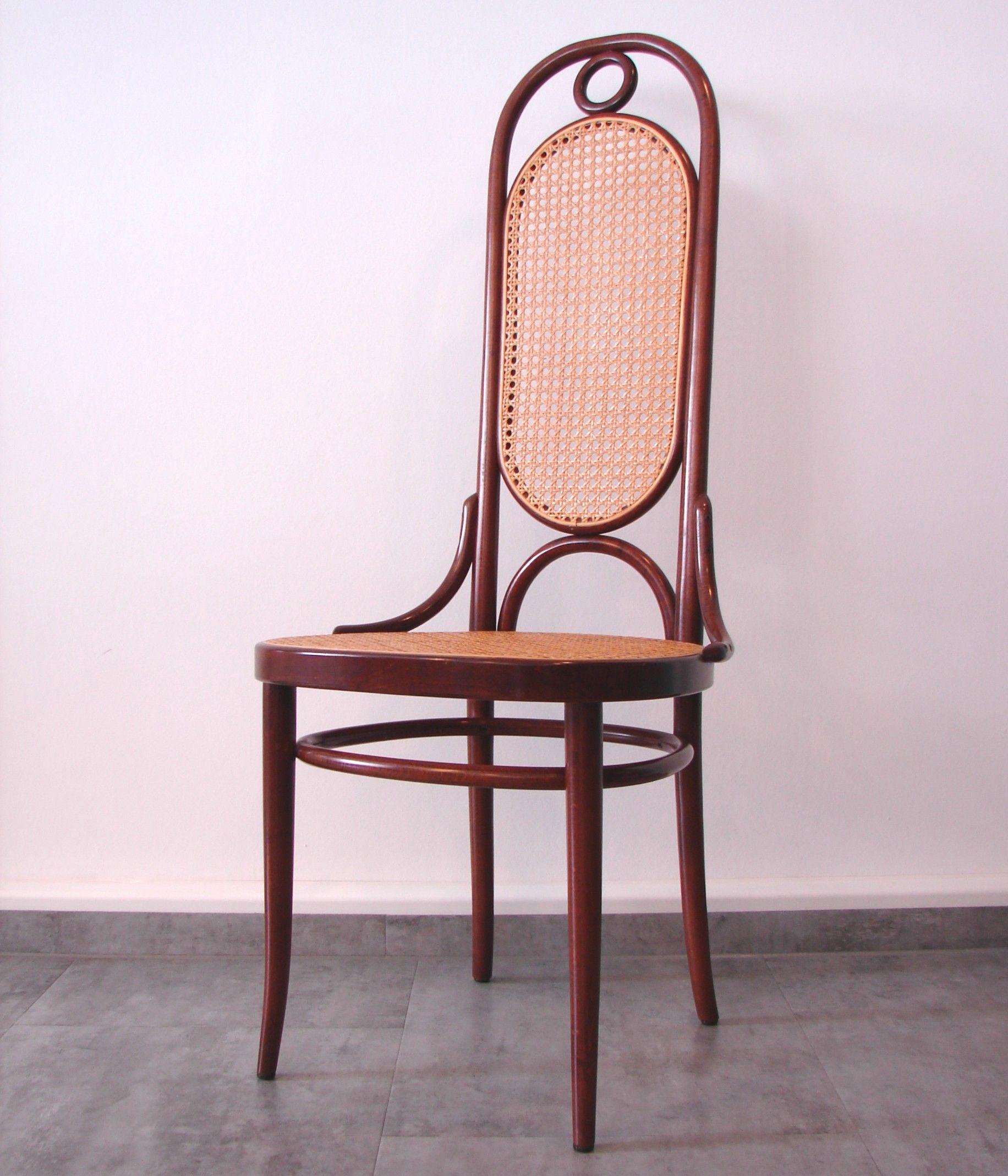 Thonet Hochlehner Bugholz Stuhle Mit Rohrgeflecht Sessel Modell Nr 17 Entwurf Thonet 1862 Papierlabel Pragung Thonet 84 Sehr Guter Zustan Sessel Stuhle Holz