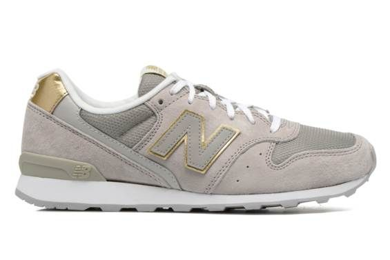 beige new balance sneakers wr996 dames