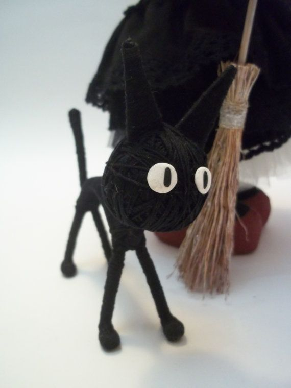 Doll Little Witch Kiki by DollsLittleAngels on Etsy, $115.00