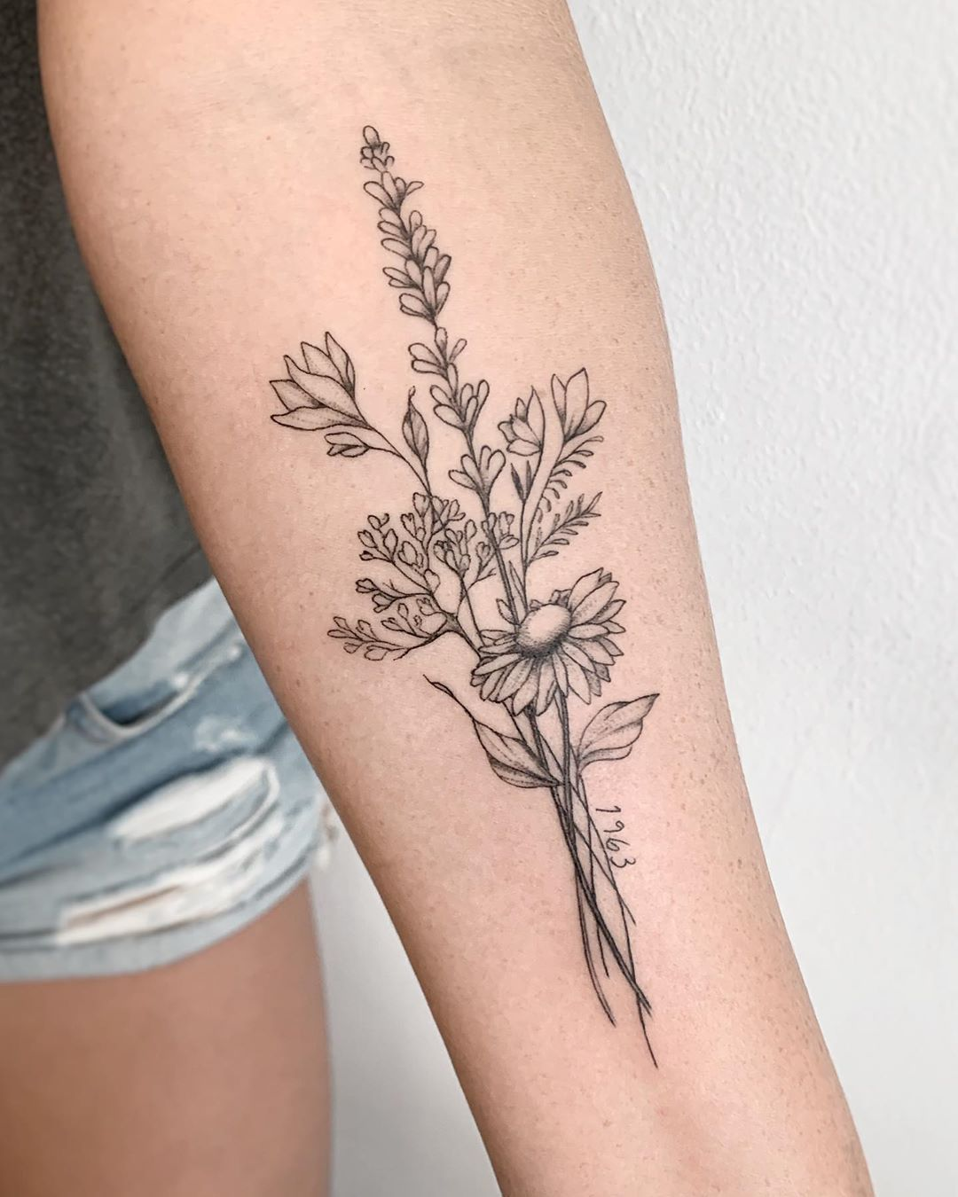 15+ Bouquet tattoo ideas in 2021