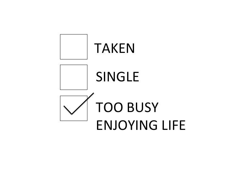 Would Like To Be Taken But Yes Enjoying Life In The Meantime