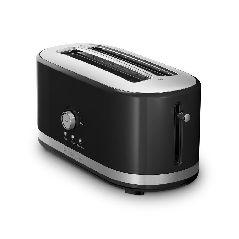 Amazon.com: KitchenAid KMT4116OB 4 Slice Long Slot Toaster with High ...