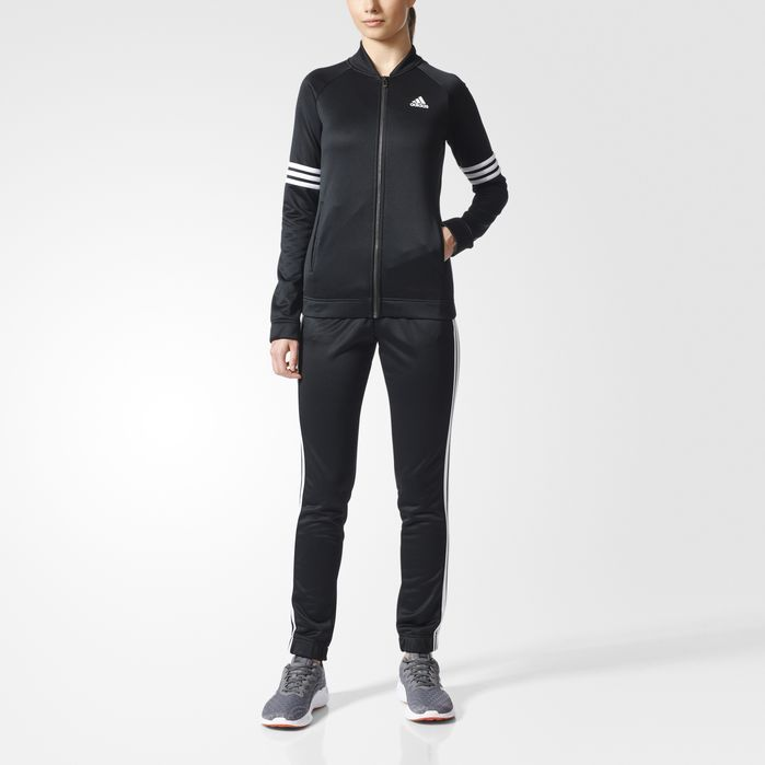 6708a3c8741 adidas Cozy Track Suit | Products | Pink adidas, Pants for women ...