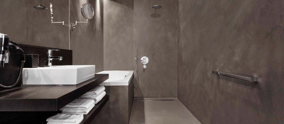 Home | Bad en Wonen Badkamer inspiratie badmeubel beton cire ...