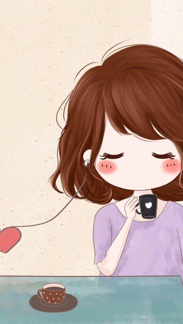 Love Couple 640 X 1136 Wallpapers Available For Free Download Seni Animasi Ilustrasi Seni Anime