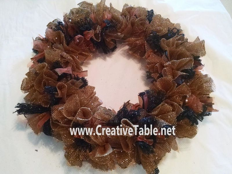 It\u0027s FallYa\u0027ll- Create Your Own Halloween Witch Wreath With Deco - create halloween decorations