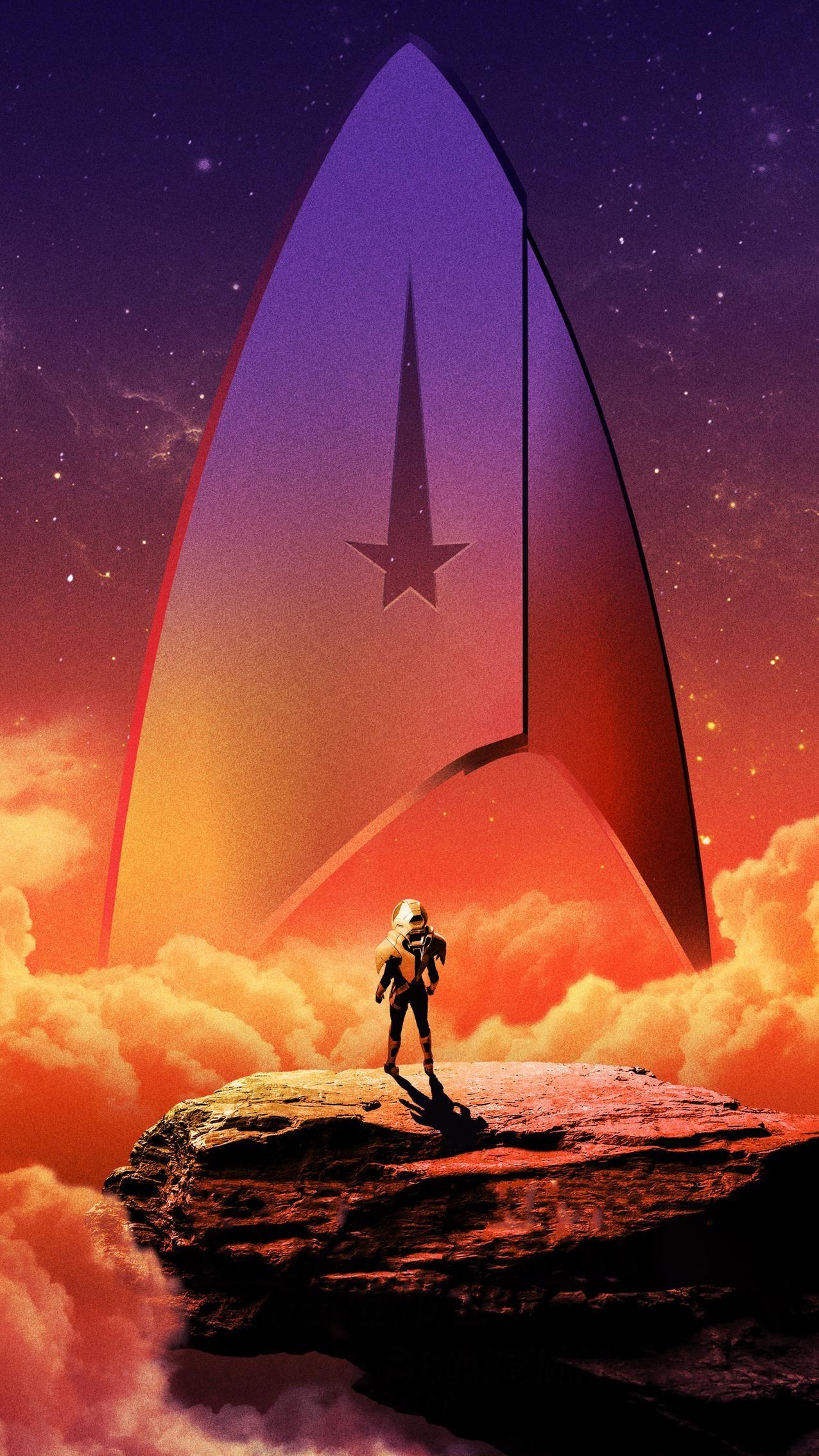 Star Trek Discovery Phone Wallpaper Moviemania Star Trek Wallpaper Star Trek Starships Star Trek Art