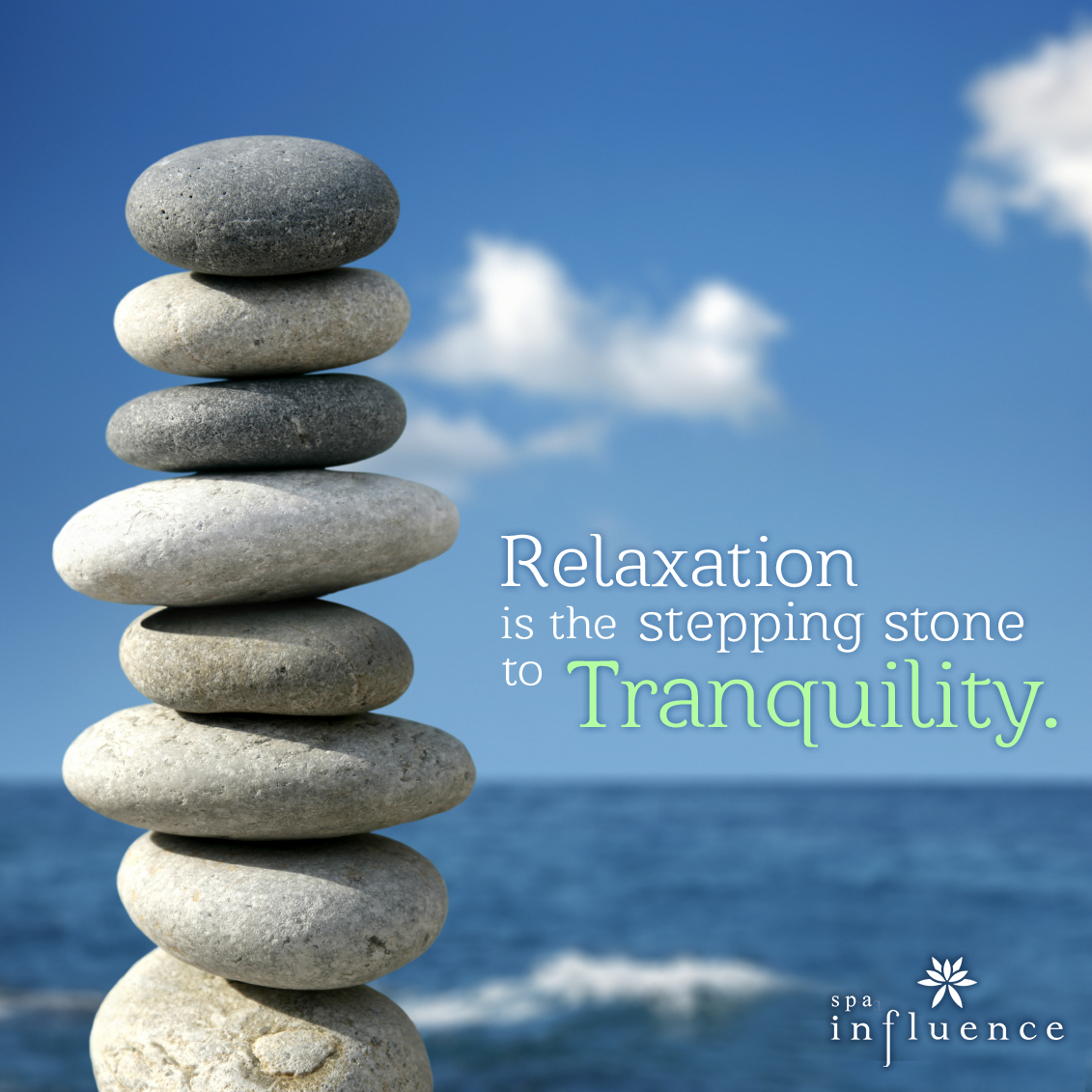 Relax Stone: Relaxation Is The Stepping Stone To Tranquility #spa