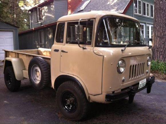 1957 Jeep Fc 170 Forward Control Pickup Cars And Jeep Trucks