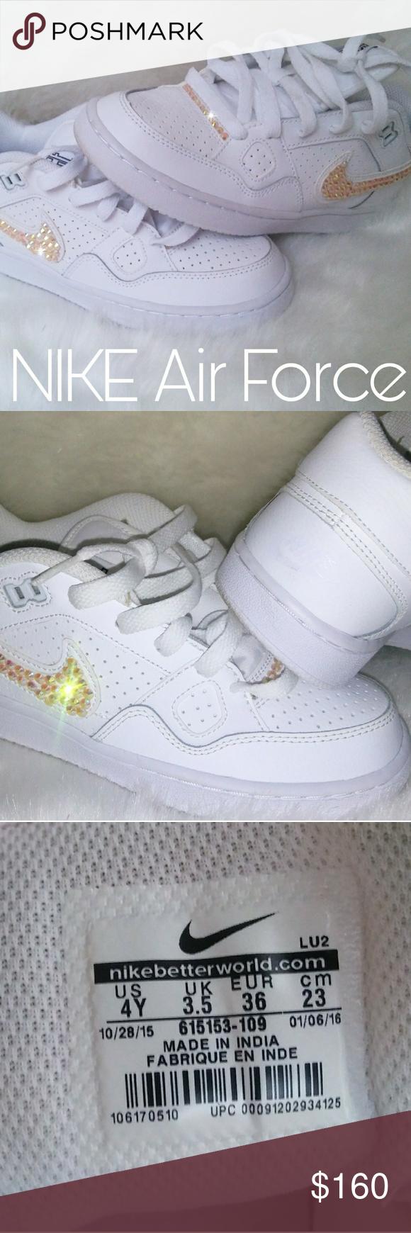 Custom Nike Air Force 1   Nike air force, Custom nikes, Shoe brands