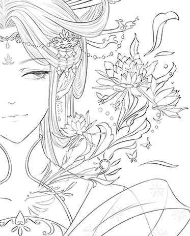 Coloring Sheets Aesthetic Trend