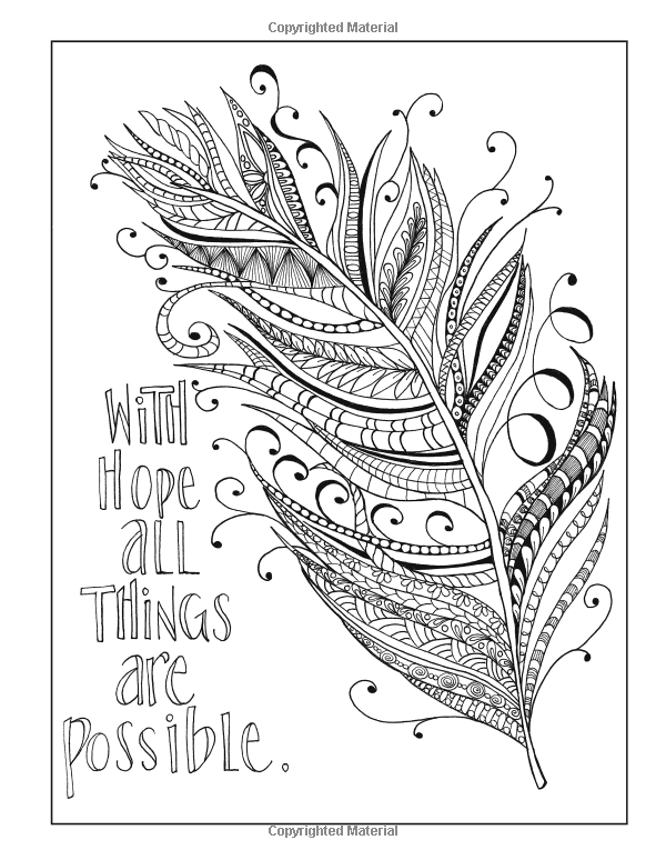 Inkspirations for Recovery: A Coloring Companion that