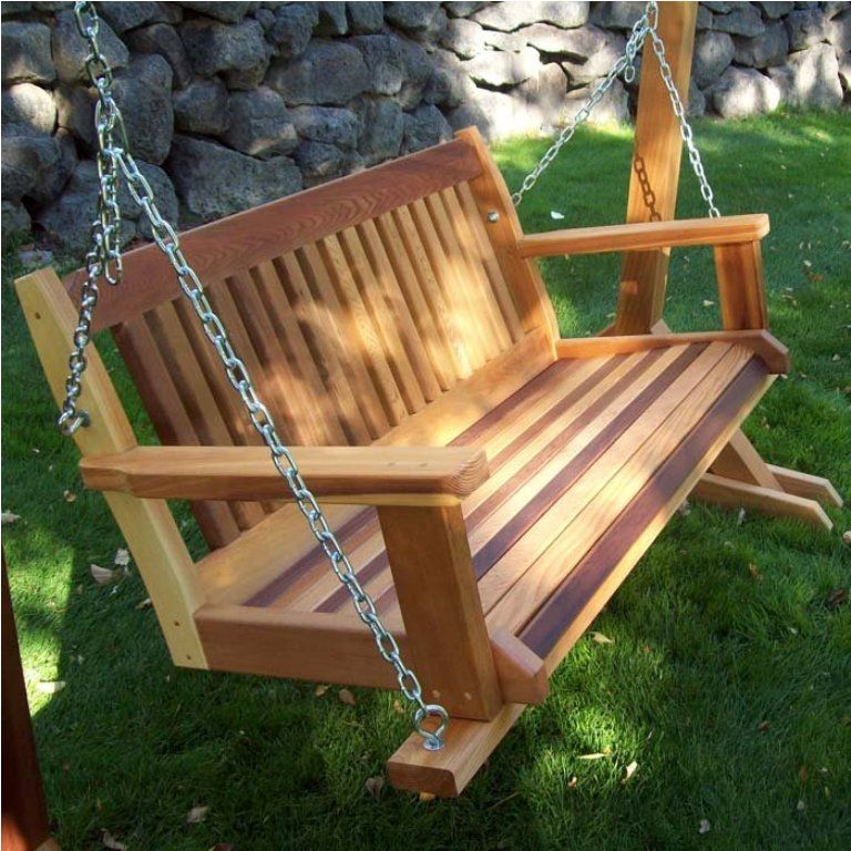 Wooden Porch Swing Plans Porch Swing Can Be Made Of Several