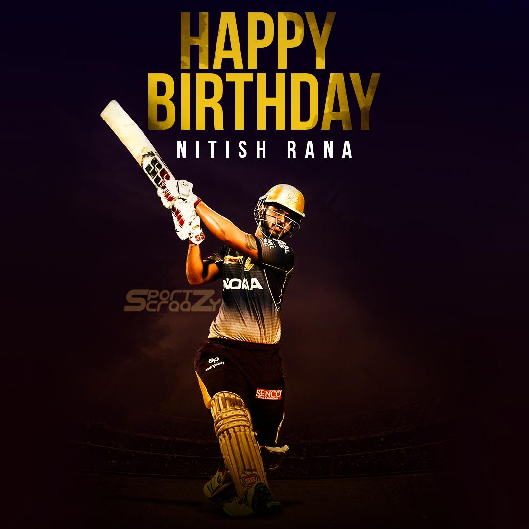 Nitish Rana Biography Happy birthday, Cricket teams, Happy