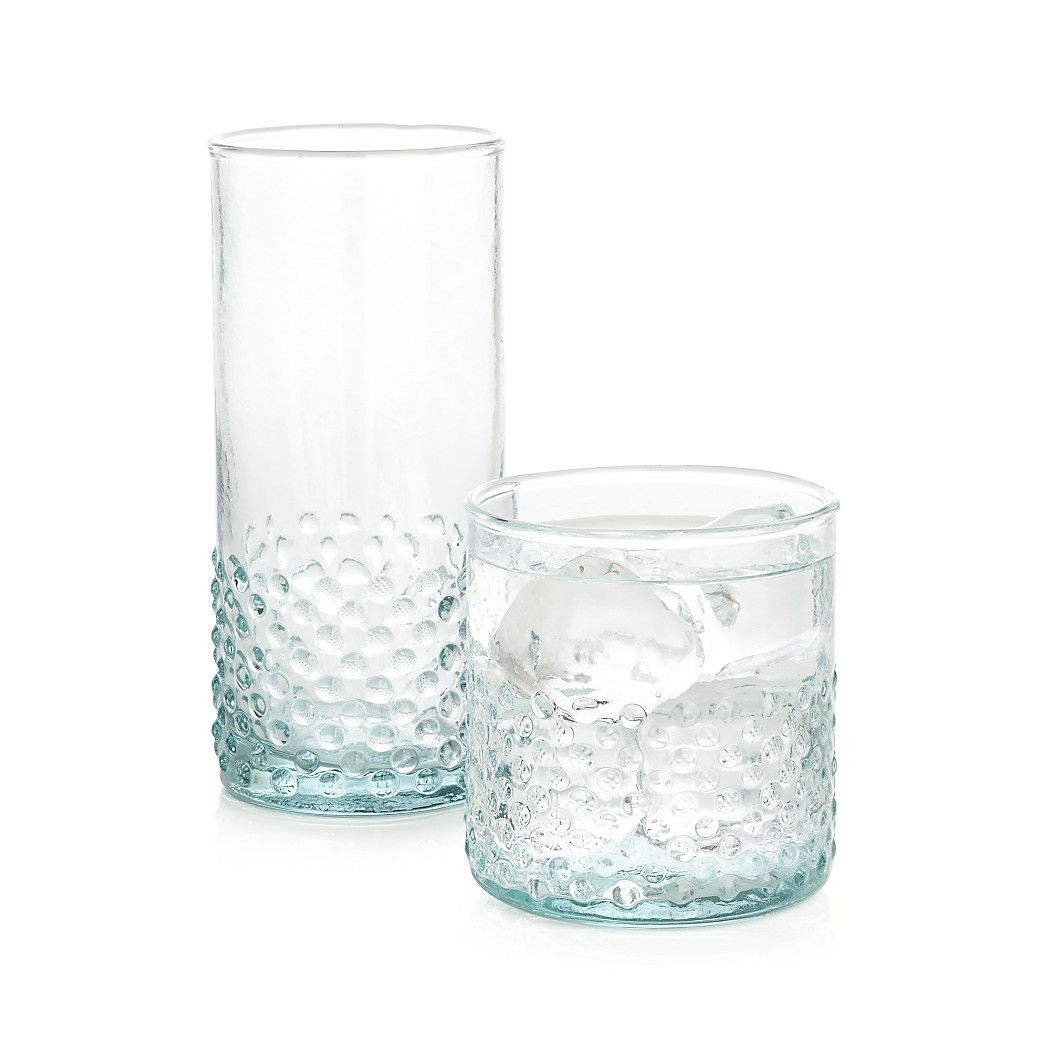 Shop Lagos Double Old Fashioned Glass Recycled European Glass Tints Each Lagos Old Fashioned Glass A Beautiful Gr Old Fashioned Glass Crate And Barrel Crates