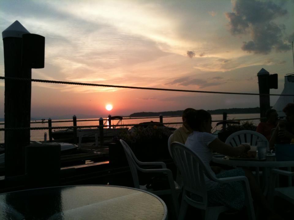 Vermont Sunset & Lake Champlain...