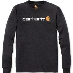 Photo of Carhartt Emea Workwear Signature Graphic Core Logo Longsleeve Grau Xl Carhartt